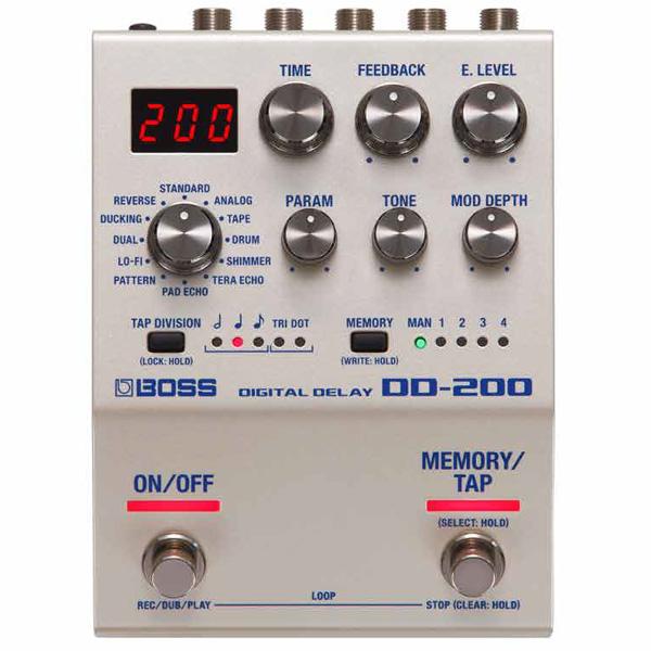Boss(ボス) / DD-200 DIGITAL DELAY デジタル ディレイ ≪ギターエフェクター≫