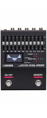 Boss(ボス) / EQ-200 GRAPHIC EQUALIZER グラフィック イコライザー ≪ギター ベース エフェクター≫ 【今夏発売予定】 ※ご予約は受け付けておりません。