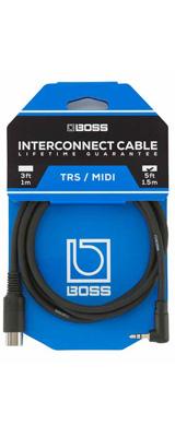 Boss(ボス) / BMIDI-5-35 TRS/MIDI connecting cable [3.5mmステレオ・ミニ・コネクター / 5ピンMIDIコネクター]