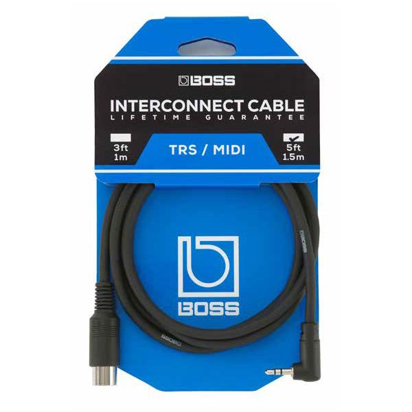 Boss(ボス) / BMIDI-5-35 TRS/MIDI connecting cable [3.5mmステレオ・ミニ・コネクター / 5ピンMIDIコネクター] 【今夏発売予定】 ※ご予約は受け付けておりません。