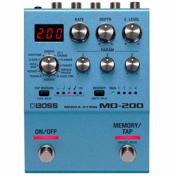 Boss(ボス) / MD-200 Modulation モジュレーション ≪ギター ベース エフェクター≫ 【今秋発売予定】