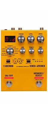 Boss(ボス) / OD-200 HYBRID DRIVE オーバードライブ ディストーション ≪ギターエフェクター≫ 【今秋発売予定】 ※ご予約は受け付けておりません。