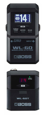 Boss(ボス) / WL-60 Wireless System ギター ベース ワイヤレス / 楽器ワイヤレス  1大特典セット
