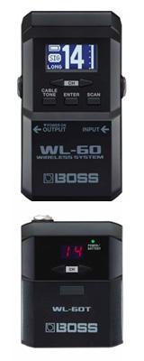 Boss(ボス) / WL-60 Wireless System ギター ベース ワイヤレス / 楽器ワイヤレス  【在庫あり・即納可能、次回納期未定】 1大特典セット