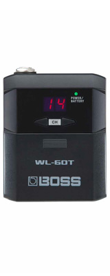 ■ご予約受付■ Boss(ボス) / WL-60T トランスミッター単品 Wireless System ギターワイヤレス / 楽器ワイヤレス 【納期はお問い合わせください】