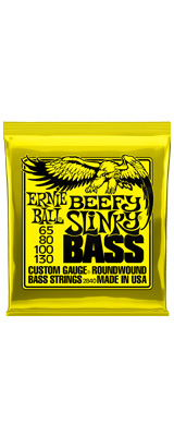 ErnieBall(アーニーボール) / Beefy Slinky Bass  65-130 [P02840] - ベース弦 -