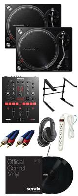 ■ご予約受付■ PLX-500-K / Scratch 【Serato DJ Pro / Serato DVS無償】 DVSスタートセット 12大特典セット