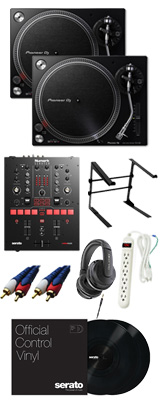 PLX-500-K / Scratch 【Serato DJ Pro / Serato DVS無償】 DVSスタートセット【次回12月頃予定】 12大特典セット