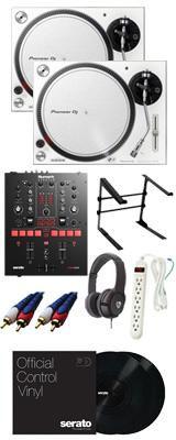 PLX-500-W / Scratch 【Serato DJ Pro / Serato DVS無償】 DVSスタートセット【次回12月頃予定】 12大特典セット