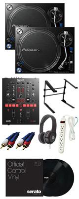 PLX-1000 / Scratch 【Serato DJ Pro / Serato DVS無償】 DVSスタートセット 12大特典セット