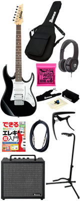 ■ご予約受付■ 【初心者コンプリートセット】 Ibanez(アイバニーズ) / GRX40-BKN [GIO:Ibanez] -  エレキギター コンボアンプセット - 6大特典セット