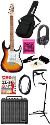 【初心者コンプリートセット】 Ibanez(アイバニーズ) / GRX40-TFB [GIO:Ibanez] -  エレキギター コンボアンプセット - 6大特典セット