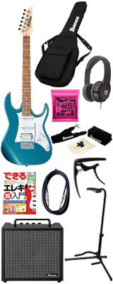 ■ご予約受付■ 【初心者コンプリートセット】 Ibanez(アイバニーズ) / GRX40-MLB [GIO:Ibanez] -  エレキギター コンボアンプセット - 6大特典セット