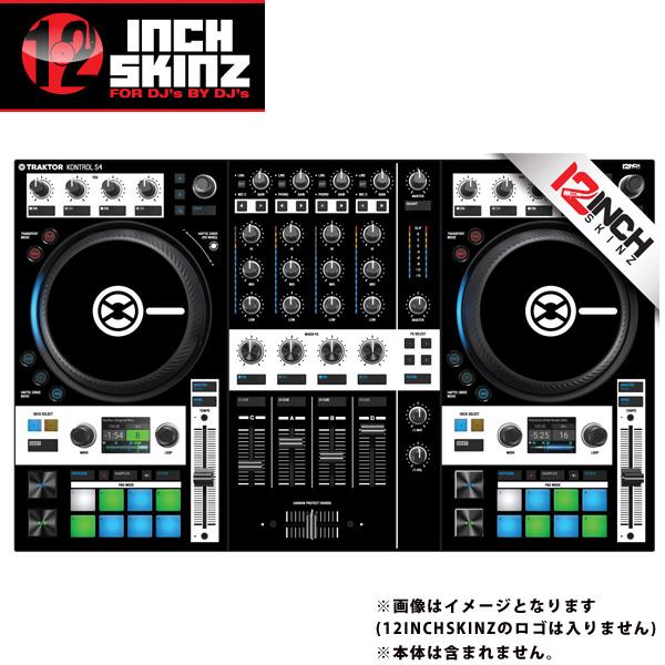 12inch SKINZ / Native Instruments Kontrol S4 MK3 Skinz (Black) 【Kontrol S4 MK3 用スキン】
