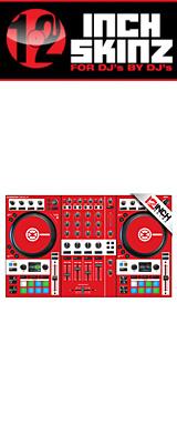 12inch SKINZ / Native Instruments Kontrol S4 MK3 Skinz (Red) 【Kontrol S4 MK3 用スキン】