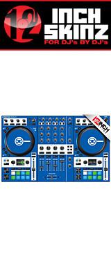12inch SKINZ / Native Instruments Kontrol S4 MK3 Skinz (Blue) 【Kontrol S4 MK3 用スキン】
