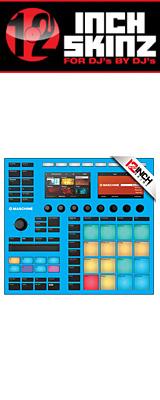 12inch SKINZ / Native Instruments Maschine MK3 Skinz (Lite Blue) 【Maschine MK3 用スキン】