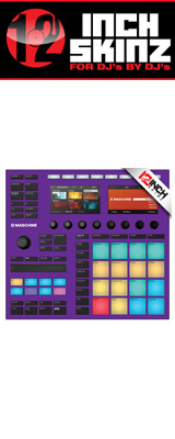 12inch SKINZ / Native Instruments Maschine MK3 Skinz (Purple) 【Maschine MK3 用スキン】