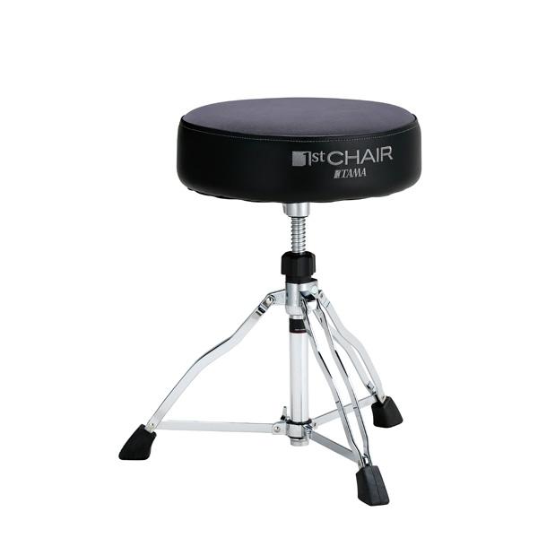 """【限定モデル】 TAMA(タマ) / HT430GYC (グレー) 【1st Chair ROUND RIDER ラウンドライダー 3脚""""クロストップ""""スローン】 - ドラムスローン - 【限定モデル】"""
