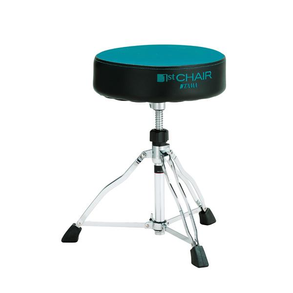 """【限定モデル】 TAMA(タマ) / HT430BGC (ブルー・グリーン) 【1st Chair ROUND RIDER ラウンドライダー 3脚""""クロストップ""""スローン】 - ドラムスローン - 【限定モデル】"""