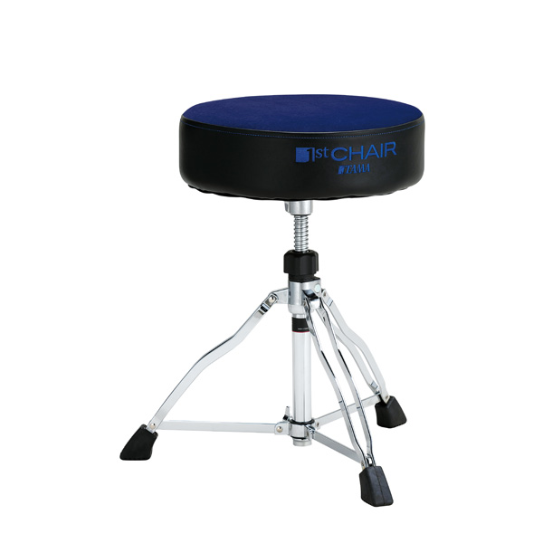 """【限定モデル】 TAMA(タマ) / HT430DBC (ダーク・ブルー) 【1st Chair ROUND RIDER ラウンドライダー 3脚""""クロストップ""""スローン】 - ドラムスローン - 【限定モデル】"""