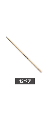 【12ペア】 Pearl(パール) /  106HC-N Drum Sticks Classic Series ナイロンチップバージョン(Round) 【Fat Body】 ドラムスティック