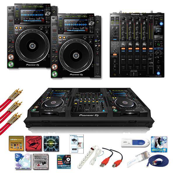 Pioneer(パイオニア) / CDJ-2000NXS2 / DJM-900NXS2 ZomoフライトケースAセット 15大特典セット