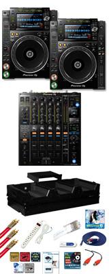■ご予約受付■ Pioneer(パイオニア) / CDJ-2000NXS2 / DJM-900NXS2 Pro X フライトケースセット 15大特典セット