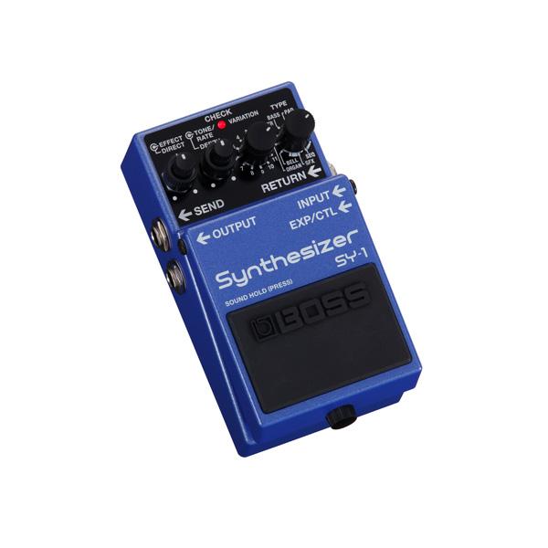 Boss(ボス) / SY-1 Synthesizer - コンパクト・ペダル・タイプ シンセサイザー - 《ギターエフェクター》