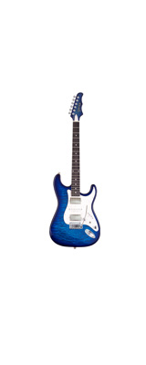 MD Guitars (エムディーギターズ) / G7-Q / SBL 日本製 エレキギター シースルーブルー 「ギグバッグ付」 【納期未定】 1大特典セット