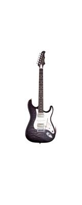 MD Guitars (エムディーギターズ) / G7-Q / SBK 日本製 エレキギター シースルーブラック 「ギグバッグ付」 1大特典セット