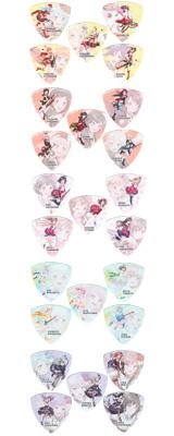 ■ご予約受付■ 【BanG Dream!第3弾ピックオールコンプリートセット】 ESP(イーエスピー) x バンドリ! ガールズバンドパーティ! キャラクターピック Ver.3 【8月下旬頃発売予定】