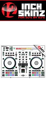 12inch SKINZ / Roland DJ-505 Skinz (White/Black) 【Roland DJ-505 用スキン】