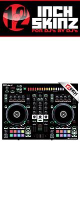 12inch SKINZ / Roland DJ-505 Skinz (Black) 【Roland DJ-505 用スキン】