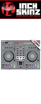 12inch SKINZ / Roland DJ-505 Skinz (Gray) 【Roland DJ-505 用スキン】