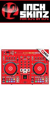 12inch SKINZ / Roland DJ-505 Skinz (Red) 【Roland DJ-505 用スキン】