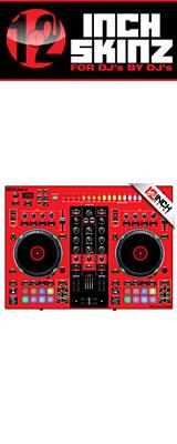 12inch SKINZ / Roland DJ-505 Skinz (Red/Black) 【Roland DJ-505 用スキン】