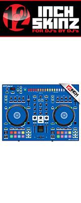 12inch SKINZ / Roland DJ-505 Skinz (Blue) 【Roland DJ-505 用スキン】