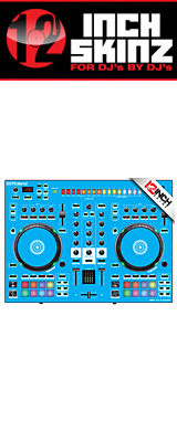 12inch SKINZ / Roland DJ-505 Skinz (Lite Blue) 【Roland DJ-505 用スキン】