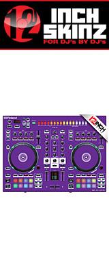 12inch SKINZ / Roland DJ-505 Skinz (Purple) 【Roland DJ-505 用スキン】