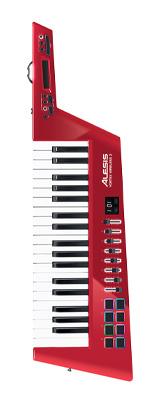 Alesis(アレシス) / Vortex Wireless 2 (数量限定 RED) 加速度センサー内蔵ワイヤレス USBショルダーキーボード・コントローラー 3大特典セット