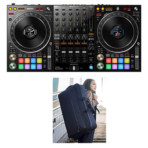 Pioneer(パイオニア) / DDJ-1000SRT 【Serato DJ Pro 無償対応】4チャンネルDJコントローラー【期間限定Serato DJ Suite+撥水ケースプレゼント!】