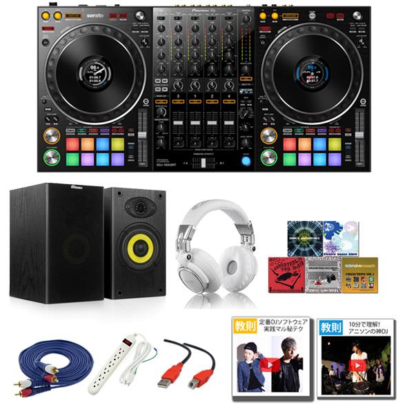 ■ご予約受付■ Pioneer(パイオニア) / DDJ-1000SRT 激安プロ向けBセット 【Serato DJ Pro 無償】 15大特典セット