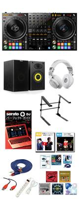 Pioneer DJ(パイオニア) / DDJ-1000SRT 激安プロ向けスターターオススメセット 【Serato DJ Pro 無償対応】 17大特典セット