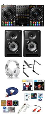 Pioneer(パイオニア) / DDJ-1000SRT / S-DJ80X 激安プロ向けCセット  【Serato DJ Pro 無償】 15大特典セット
