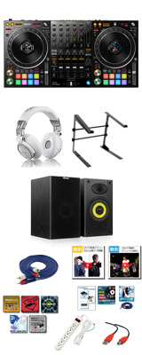 Pioneer(パイオニア) / DDJ-1000SRT 激安プロ向けオススメAセット 【Serato DJ Pro 無償対応】 16大特典セット
