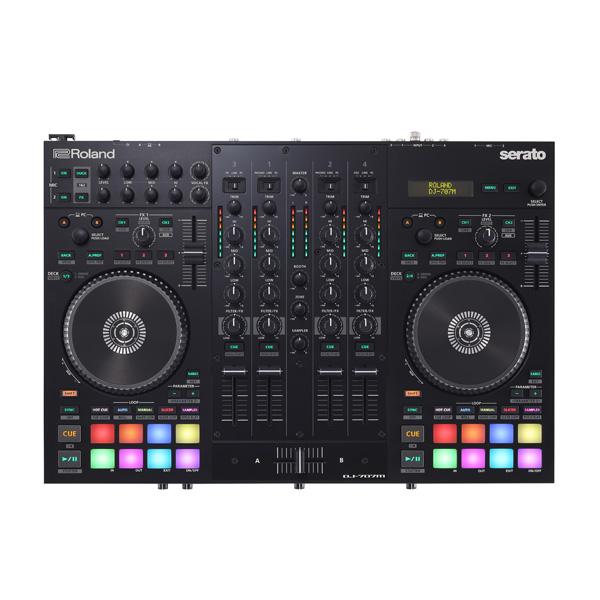 Roland(ローランド) / DJ-707M 【Serato DJ Pro 無償】- PCDJコントローラー -