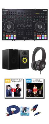 【100円パワーアップセット】Roland(ローランド) / DJ-707M 【Serato DJ Pro 無償対応】- PCDJコントローラー -  6大特典セット