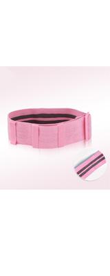 アンチスリップ抵抗エクササイズバンド (PINK / up to 120lb) - 大臀筋と太ももを活性化 スクワット エクササイズ ワークアウト -