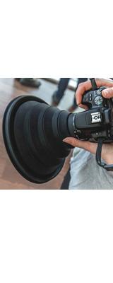 ULH / レンズフード 【夜景撮影にオススメ /  窓ガラスの向こうの景色をクリアに撮影。映り込み防止】